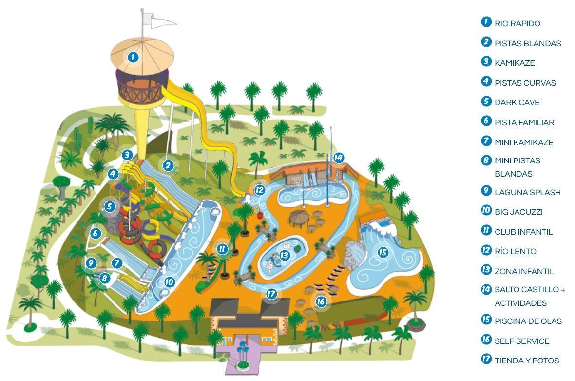 Acua Water Park (mappa)