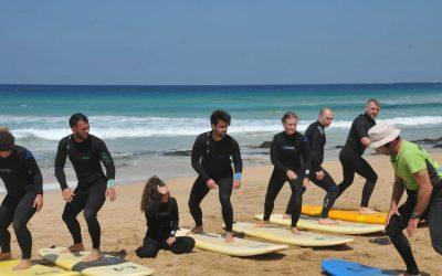 Corso di surf a Fuerteventura