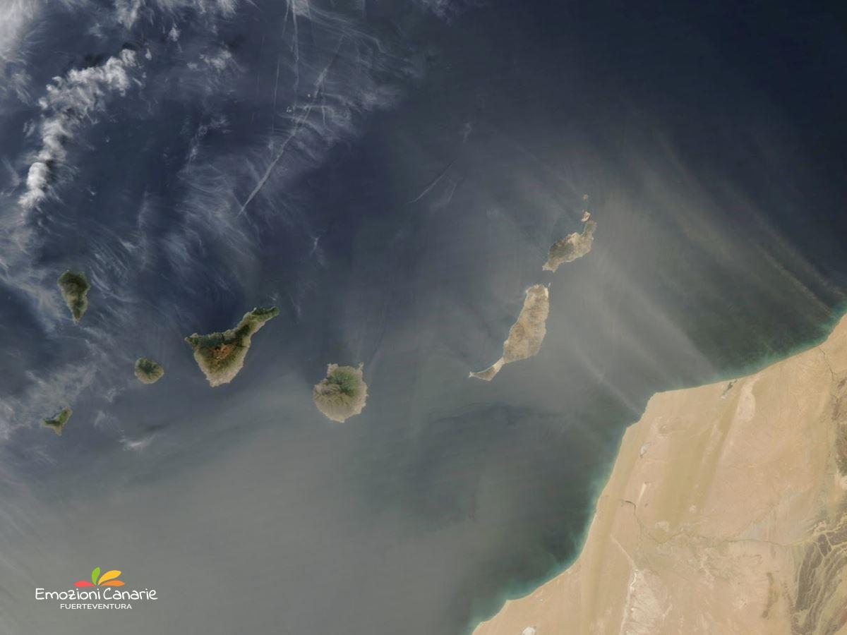 La Calima Il fenomeno atmosferico delle isole Canarie