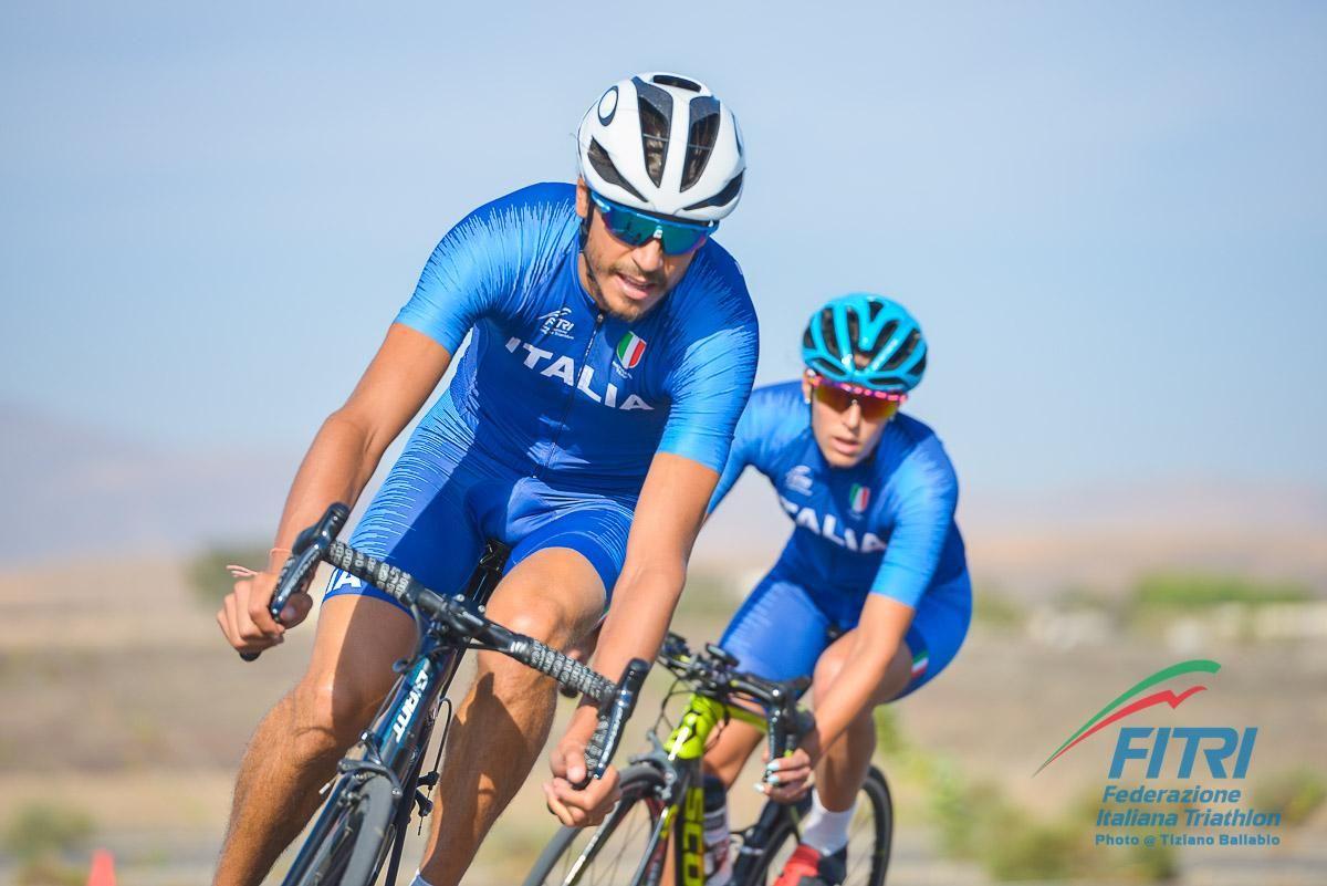 La squadra nazionale di Triathlon a Fuerteventura