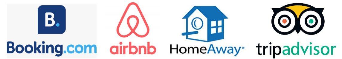 Partners prenotazioni vacanze (Booking.com, AirBnb, HomeAway, TripAdvisor)
