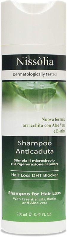 Shampoo Anticaduta Rivitalizzante per Capelli Danneggiati e Sfibrati - Anti DHT biologico per Donna Con Aloe Vera - Biotina ed Estratti Vegetali Altamente Selezionati