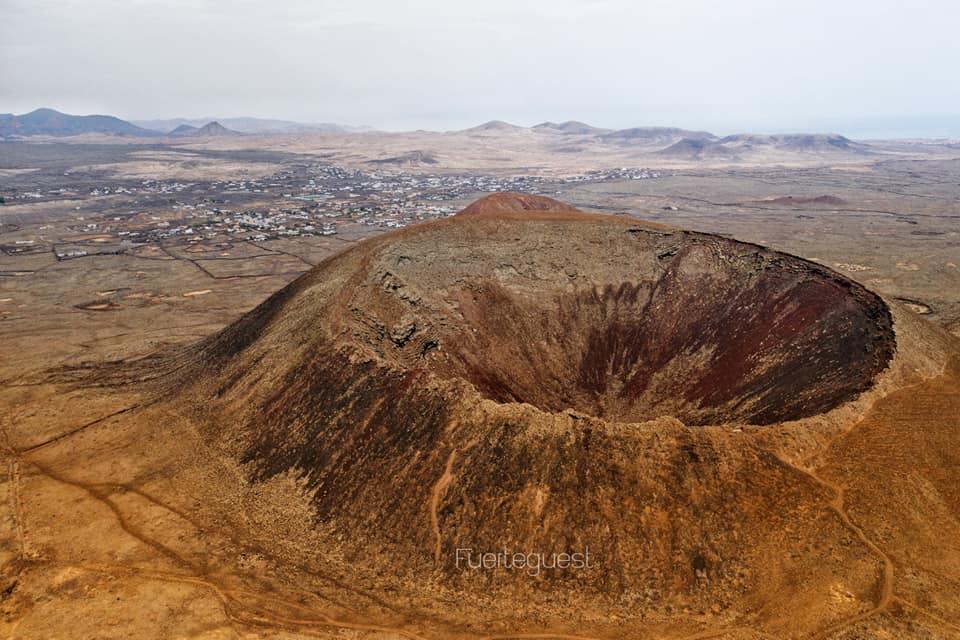 Vulcano Calderón Hondo di Fuerteventura